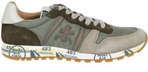 Premiata White Lace-up Sneakers