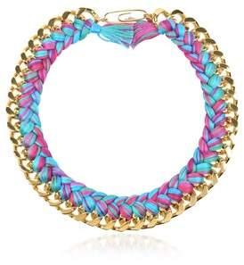 Aurelie Bidermann Women's Multicolor Metal Necklace.