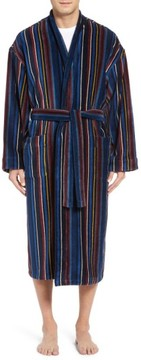 Majestic International Men's Terry Cotton Robe