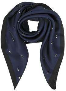 Kenzo Women's Blue Silk Foulard.