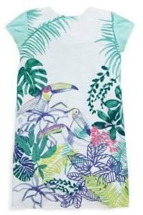 Catimini Little Girl's & Girl's Bird T-Shirt Dress