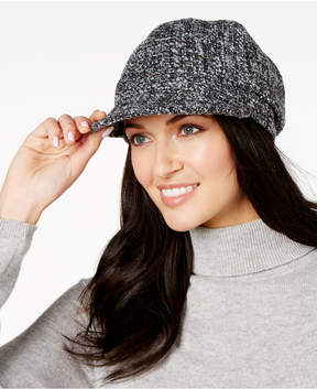 Nine West Metallic Boucle Cap