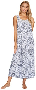 Eileen West Paisley Woven Ballet Nightgown Women's Pajama
