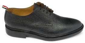 Thom Browne Pebbled Leather Derby Shoes