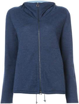 Akris zip front hoodie