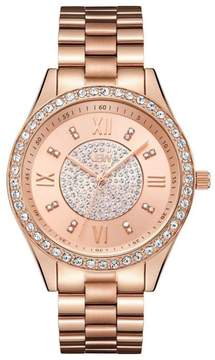 JBW Mondrain 16-Diamond Rosetone Bracelet Watch