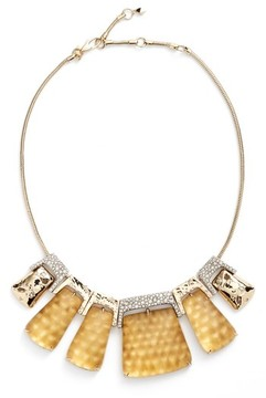 Alexis Bittar Women's Lucite Crystal Accent Crystal Collar Necklace
