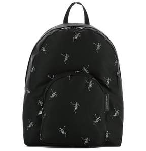 Alexander McQueen Men's Black Fabric Backpack.