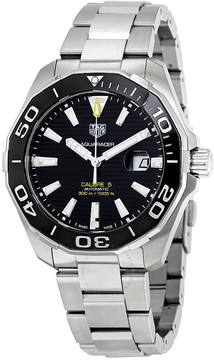 Tag Heuer Aquaracer Automatic Black Dial Men's Watch
