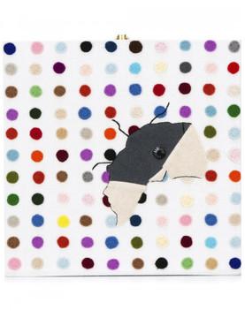 Olympia Le-Tan Olympia Le-Tan x Elmgreen & Dragsel book clutch