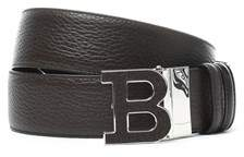 Bally Men's Brown Leather Belt.
