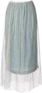 Forte Forte pleated layered skirt