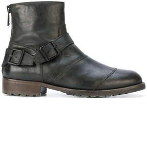 Belstaff buckle detail boots