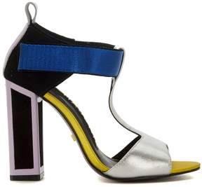 Kat Maconie Cat Makonie Stephy Multicolor Leather Heeled Sandal