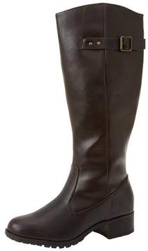 Rampage Womens Idaho Almond Toe Knee High Fashion Boots.