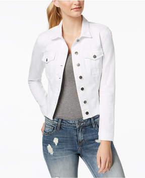 KUT from the Kloth Kara Frayed Denim Jacket