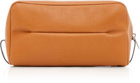 Valextra Large Classic Soft Leather Beauty Case