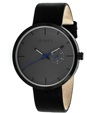 Simplify The 3900 Collection SIM3902 Unisex Watch with Leather Strap