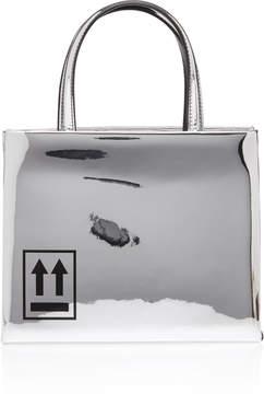 Off-White Mirror Mini Box Bag