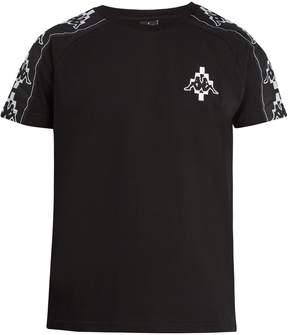 Marcelo Burlon County of Milan Kappa Tapes logo-jacquard cotton-blend T-shirt