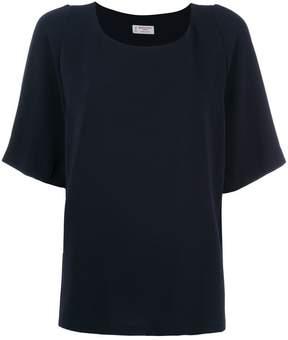Alberto Biani pleated back T-shirt