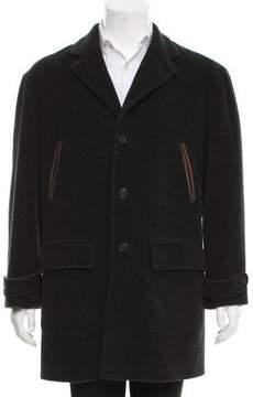 Luciano Barbera Cashmere-Blend Thompson Coat