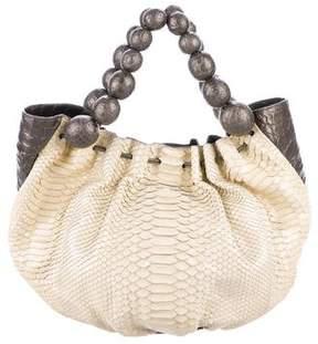 Nancy Gonzalez Crocodile & Python Satchel