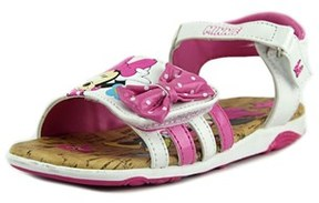 Disney Minnie Toddler Open-toe Synthetic Pink Slingback Sandal.