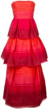 Carolina Herrera gradient layered gown