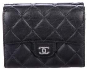Chanel Compact Dual Flap CC Wallet
