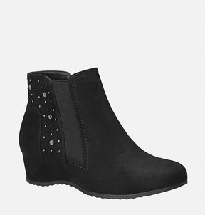 Avenue James Studded Wedge Bootie