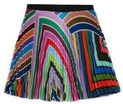 Milly Minis Toddler's, Little Girl's& Girl's Rainbow Pleated Skirt