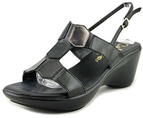Callisto Cadet Open Toe Synthetic Wedge Sandal.