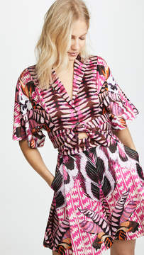 Temperley London Garden Leaf Shirt