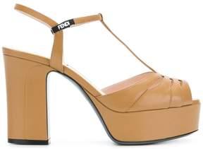 Fendi open toe sandals