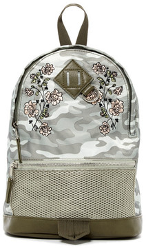 Madden Girl Printed Mini Nylon Backpack