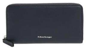 Mackage Women's Duke Zip Around Leather Wallet - Blue