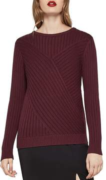 BCBGeneration Aran Ribbed Sweater