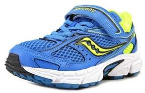 Saucony Cohesion 8 Ac Youth Round Toe Synthetic Blue Tennis Shoe.