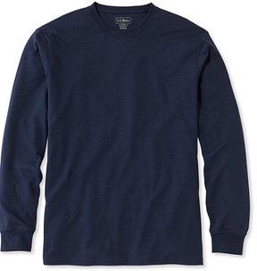 L.L. Bean Pima Cotton T-Shirt, Traditional Fit Long-Sleeve