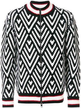 Ermanno Scervino zip front sweater