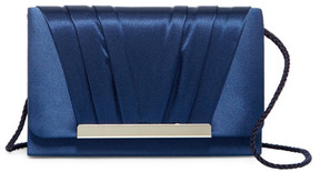 Jessica McClintock Pleated Evening Clutch