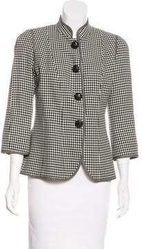 Andrew Gn Short Wool Coat w/ Tags