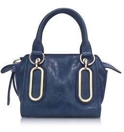 See by Chloe Women's Blue Leather Shoulder Bag.