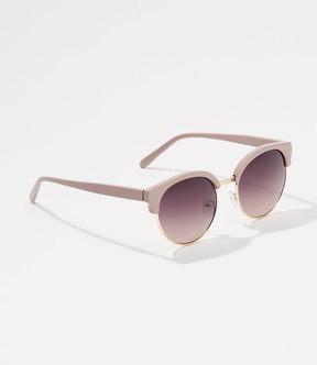 LOFT Monochrome Retro Sunglasses