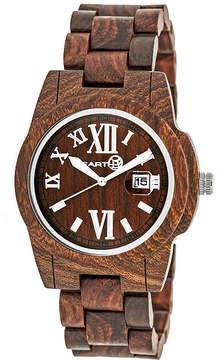 Earth Wood Red Bracelet Watch