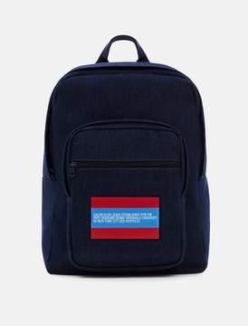 Calvin Klein est. 1978 indigo denim backpack