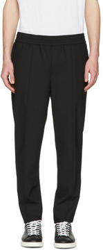 Neil Barrett Black Stretch Gabardine Trousers