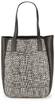 Bond Woven Leather Tote Bag