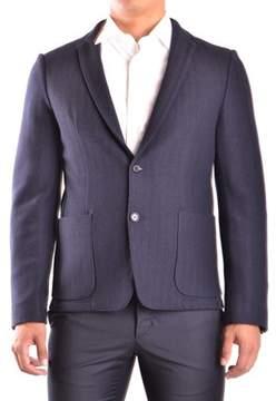 CNC Costume National Men's Blue Wool Blazer.